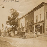 West Main St. before 1915 Fire